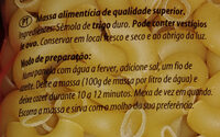 Cotoveles Grandes - Ingredientes - pt
