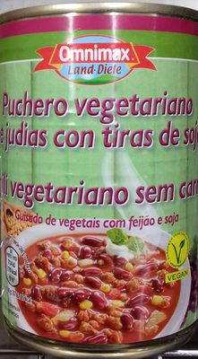 Puchero vegetariano de judías con tiras de soja - Producto - es