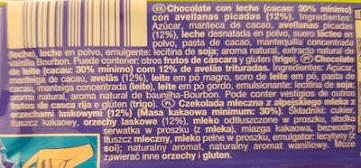 Hazelnut - Ingrediënten - es