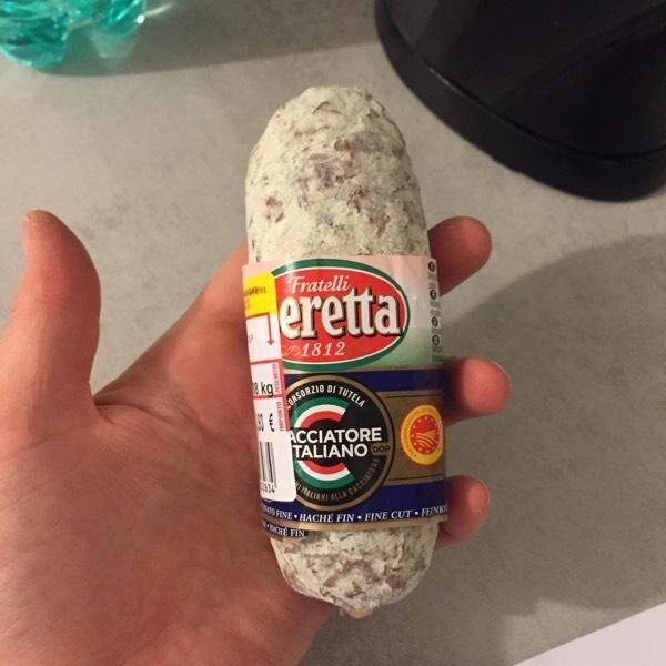 Salamini italiana. Alla. Cacciatora - Produkt - en
