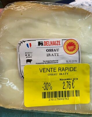 Fromage ossau - Product - fr
