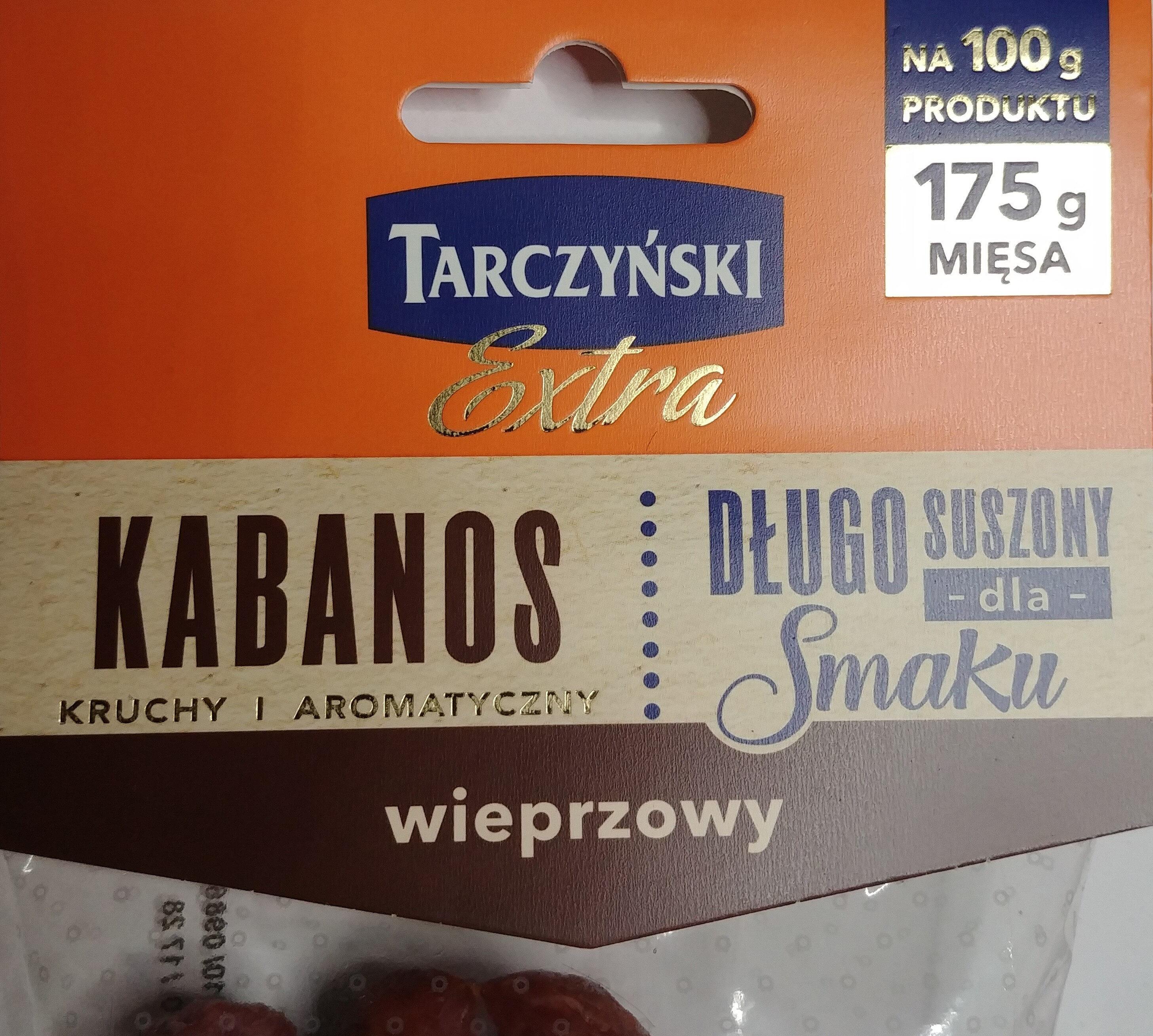 Kabanos wieprzowy extra - Product - pl