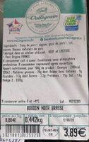 Boudin noir brassé - Produit - fr