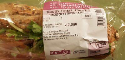 Sandwich fitness (poulet) Match - Prodotto - fr