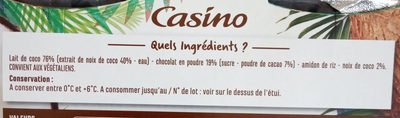 Jeu coco onctueux coco - Ingredients - fr