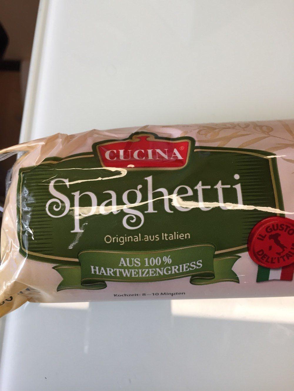 Spaghetti - Produit - en