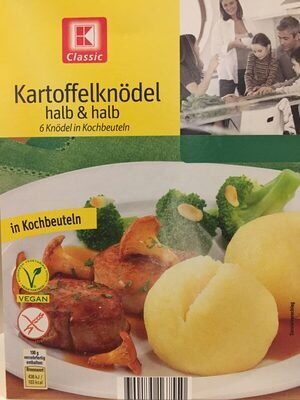 Kartoffelknödel, halb und halb - Prodotto - fr