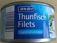 Thunfisch Filets in eigenem Saft und Aufguss - Product - de