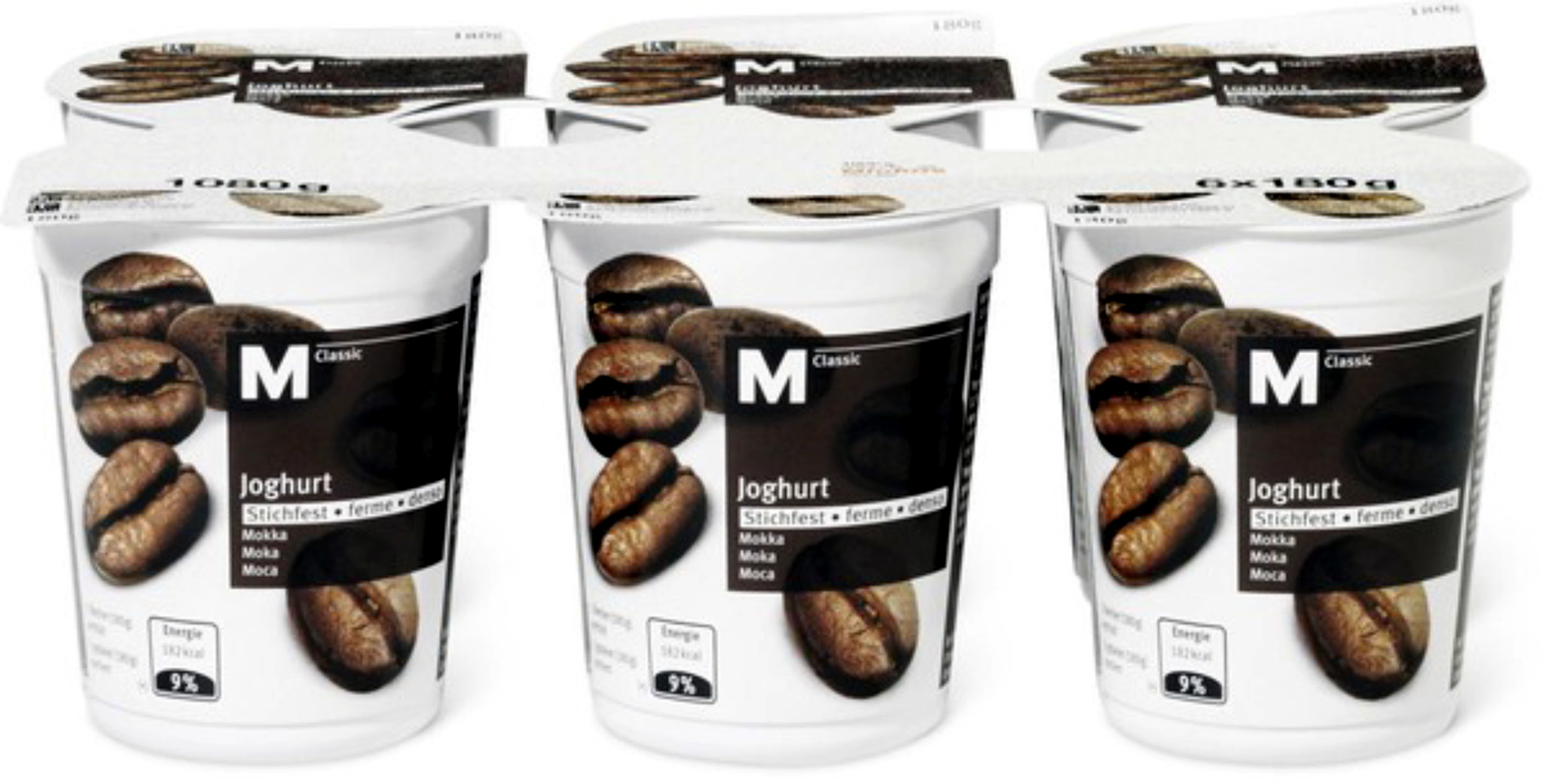 Yogourt Moka ferme M-Classic par 6 - Product - fr