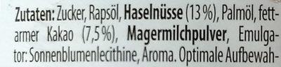 nutoka - Ingredients - de