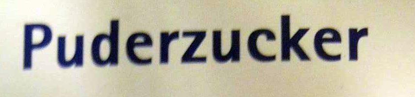 Puderzucker - Ingrediënten - de