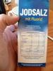 Jodsalz mit fluorid - Product