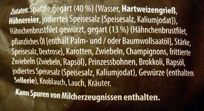 Spätzle-Pfanne - Ingredients - de