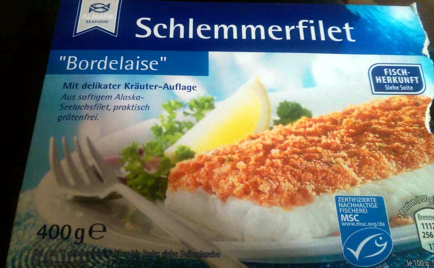 Schlemmerfilet bordelaise almare seafood 400 g - Cuisine bordelaise ...