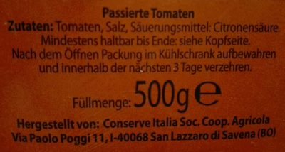 Tomaten passiert - Ingredients - de