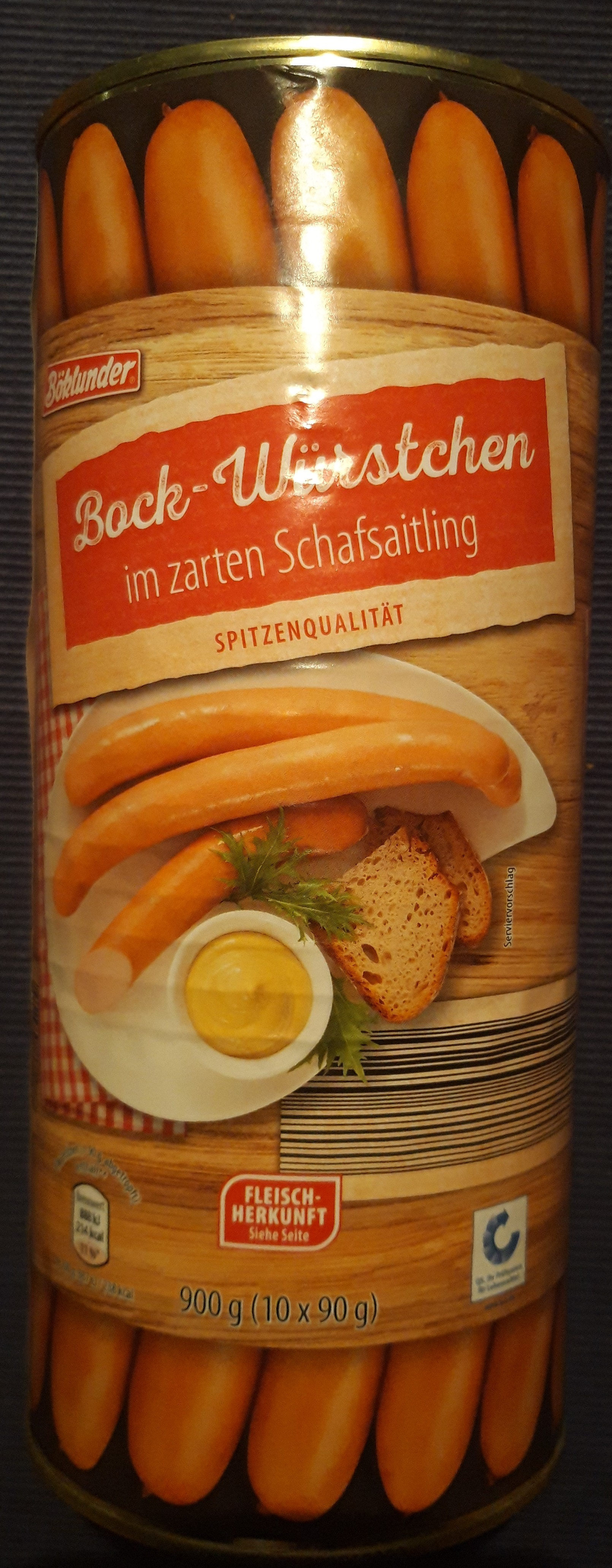 Bock-Würstchen - Product - de
