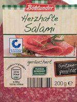 Herzhafte Salami geräuchert - Produkt
