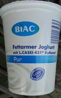 Fettarmer Joghurt mit L. CASEI-431 Kulturen - Product