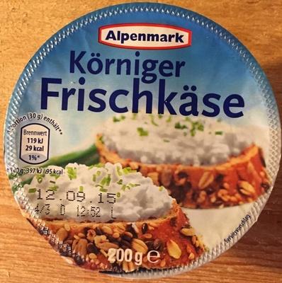 Körniger Frischkäse - Product