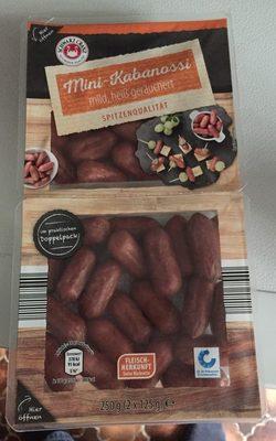 Mini-Kabanossi mild, heiß geräuchert - Product
