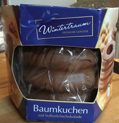 Wintertraum Baumkuchen, mit Zartbitterschokolade - Produit