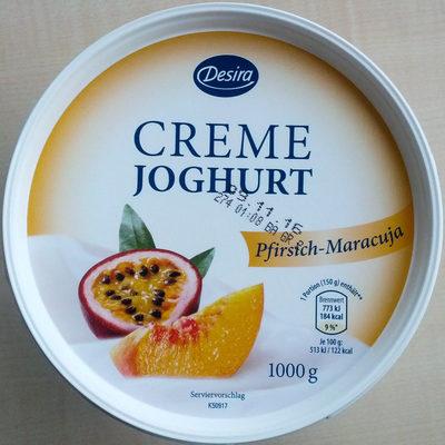 Creme-Joghurt Pfirsich-Maracuja - Produkt