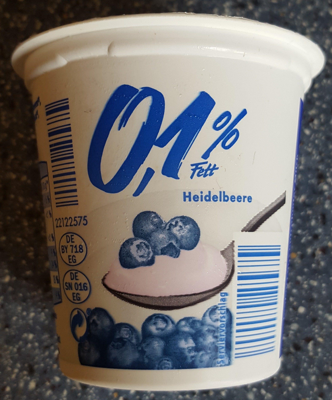 yaourt 0,1% myrtille - Produkt