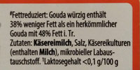 gouda - Ingrediënten - de
