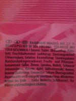 Haribo, Maoam Kracher, Fruchitg Süsswaren - Ingredients