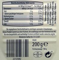 Heringsfilet,Gourmet-Platte Classic - Informations nutritionnelles - de