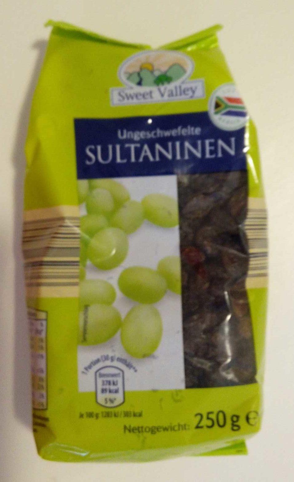 Ungeschwefelte Sultaninen - Product - de