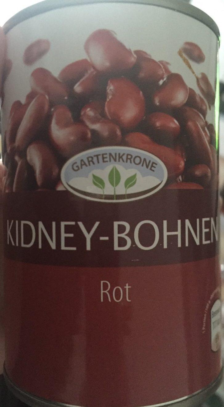 Kidneybohnen Rot - Produkt