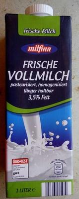 Frische Vollmilch 3,5% Fett - Produit - de