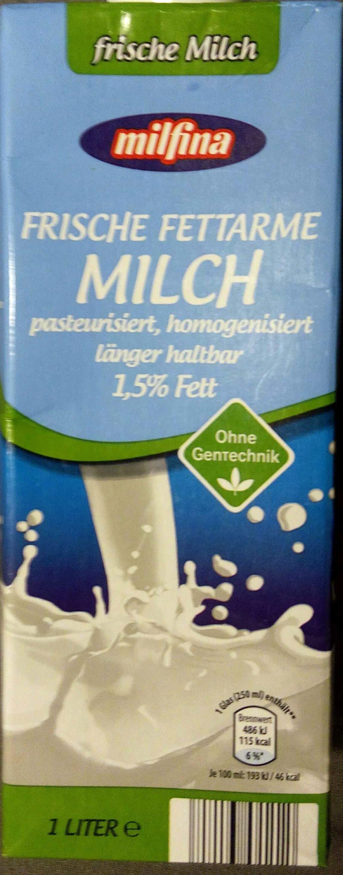 Frische fettarme Milch 1,5% - Produkt - de