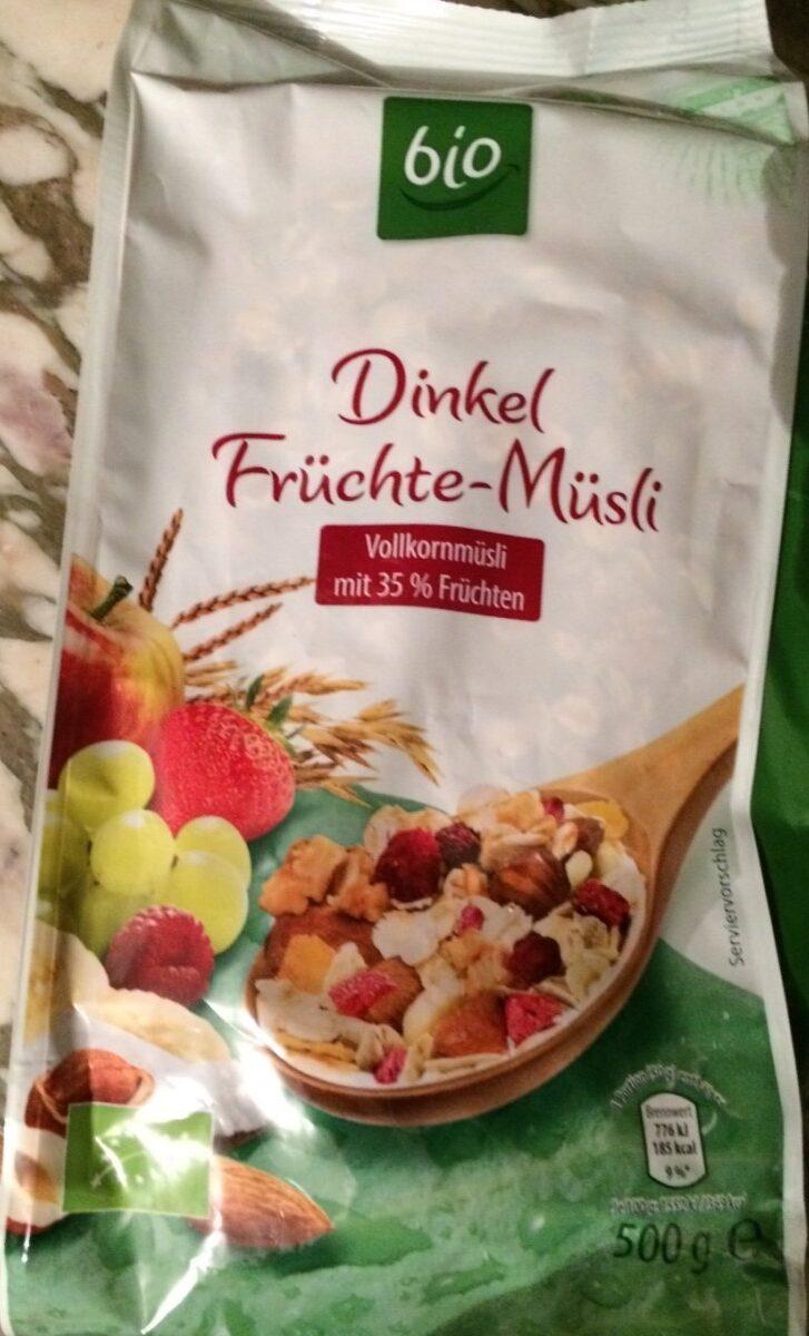 Dinkel Früchte-Müsli - Product - de