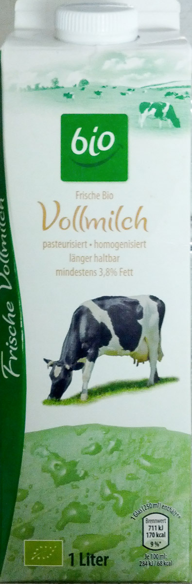 Frische Bio Vollmilch - Prodotto - de