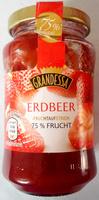 SchwarzKirsch Fruchtaufstrich 75% Frucht - Product