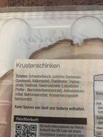 Krustenschinken - Ingredients - de