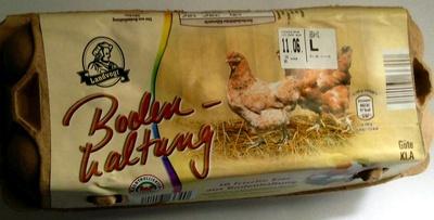 Frische Eier aus Bodenhaltung - Product - de