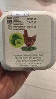 Œufs bio suisses - Product - fr