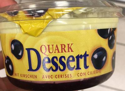 Quark Dessert avec cerises - Product
