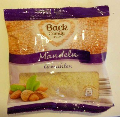 Gemahlene Mandeln - Product
