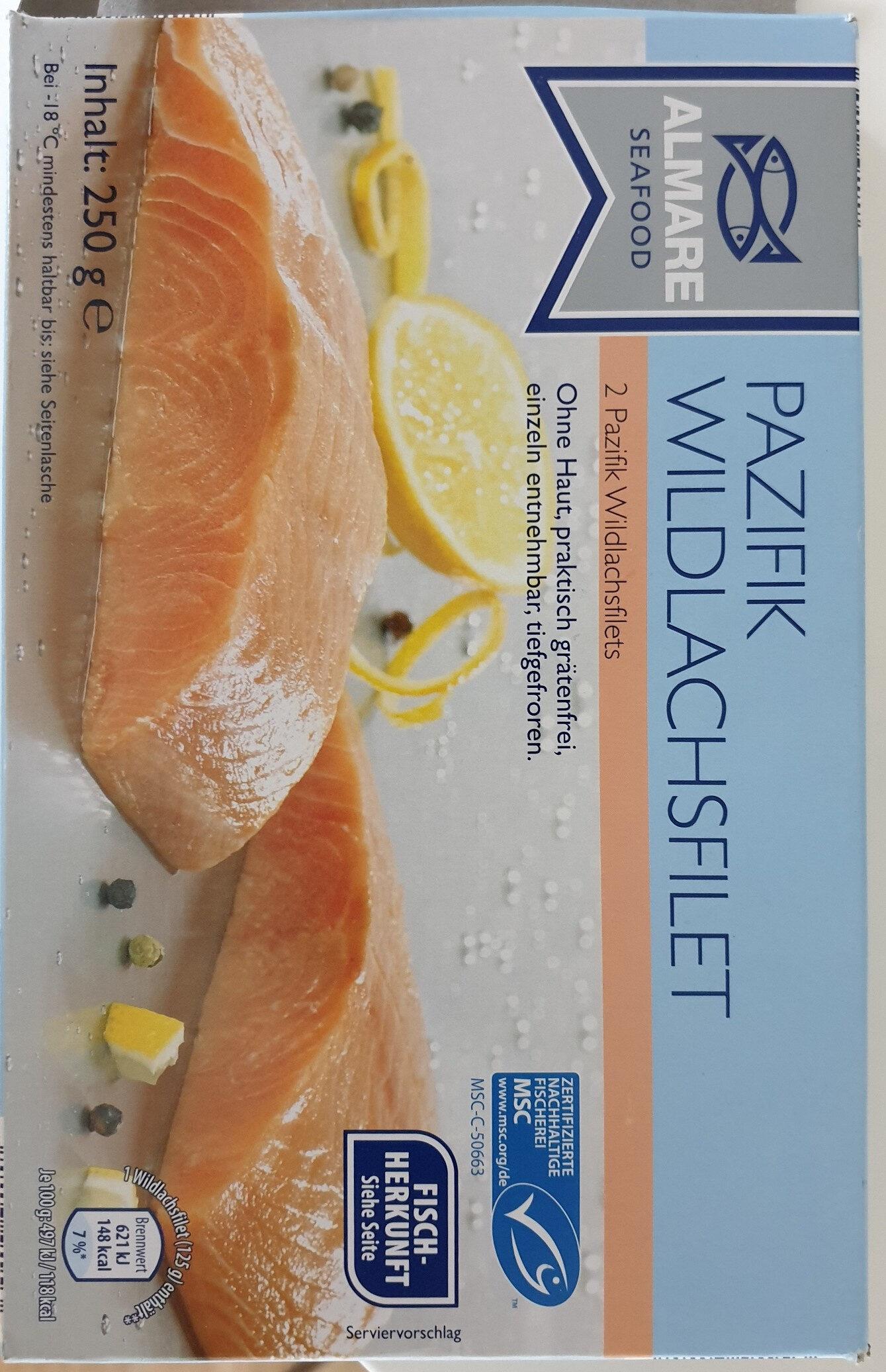 Pazifik Wildlachsfilet - Produkt - de