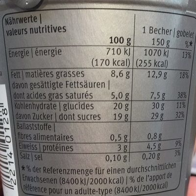 Excellence, Truffes - Nutrition facts