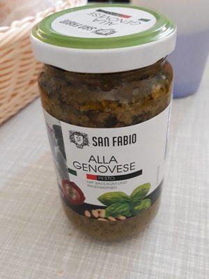 Alla Genovese Pesto - Produit - fr
