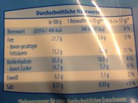 Reiswaffeln Milchschokolade - Informations nutritionnelles - fr
