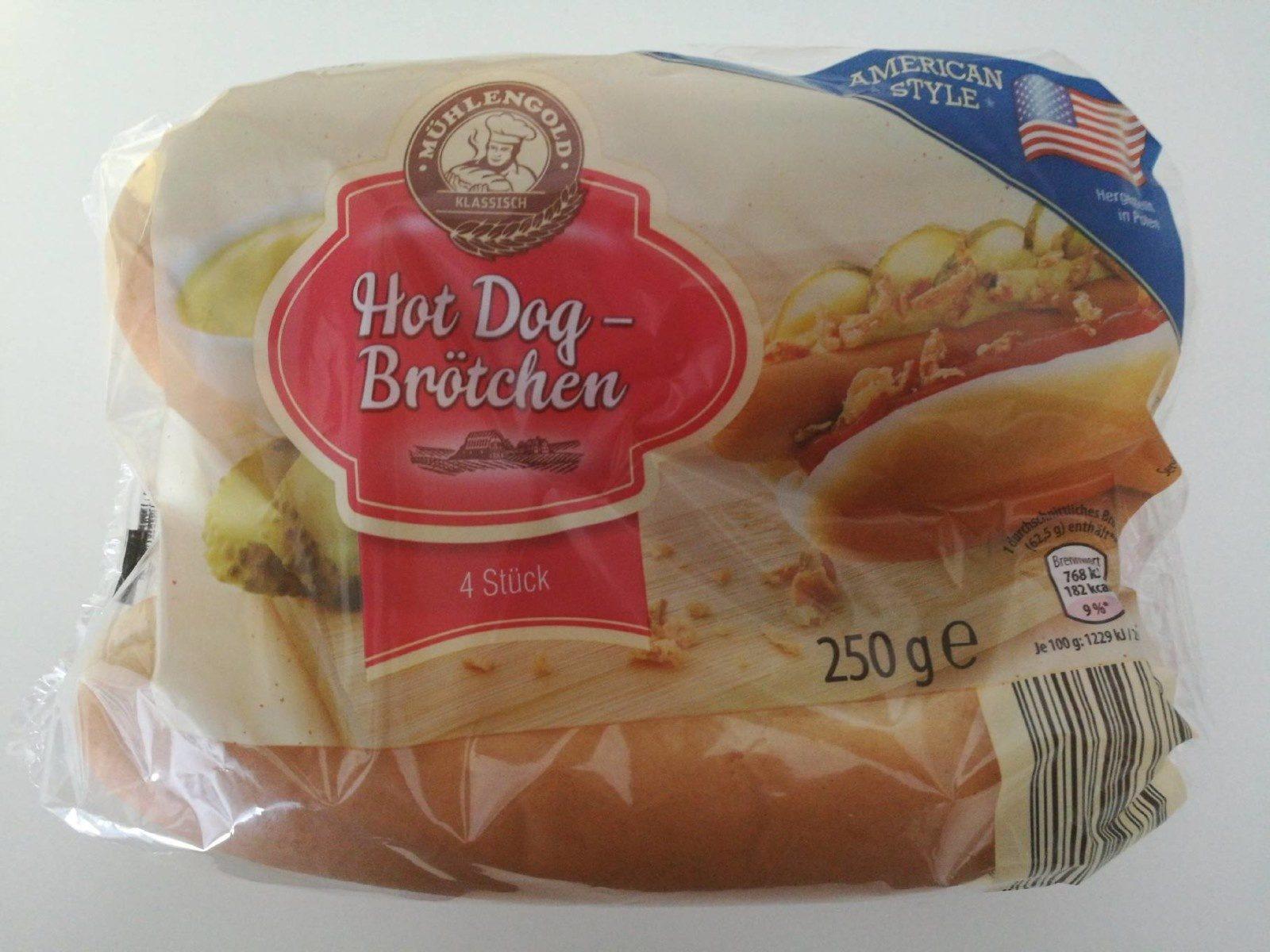 Hot Dog Brötchen - Produit - fr