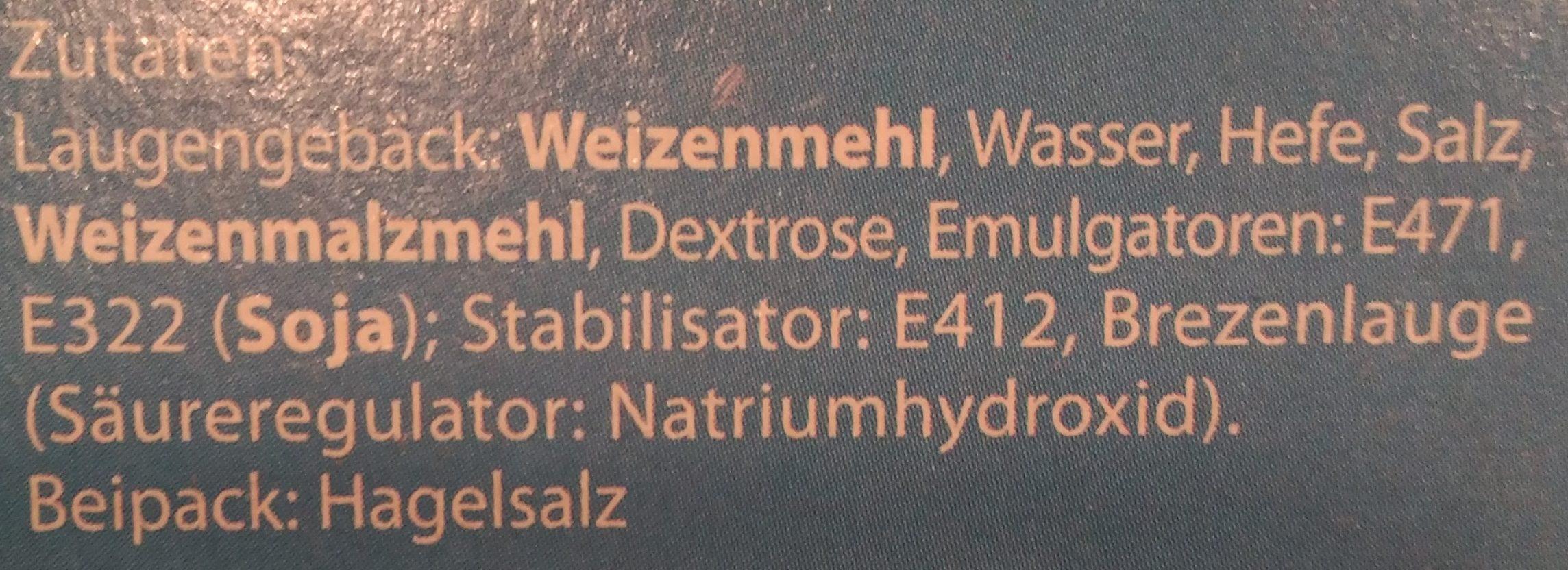 Laugenbrezen - Ingredients - de