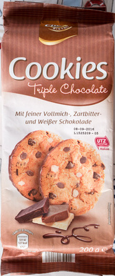 Cookies Triple Chocolate - Produit