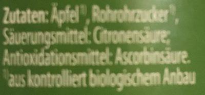 Apfelmus - Nutrition facts